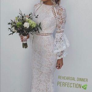 Elopement wedding dress formal white dress
